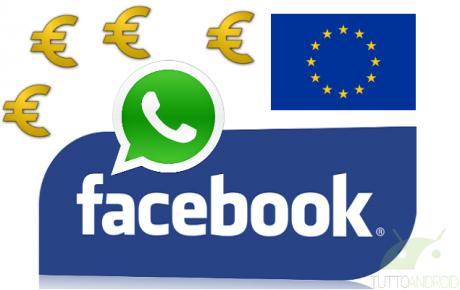 Facebook WhatsApp multa UE