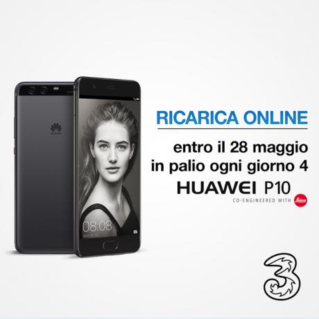 Huawei P10 concorso Tre