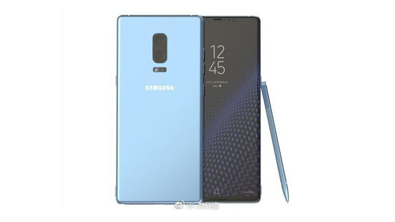 Galaxy Note 8: due fotocamere e Infinity display