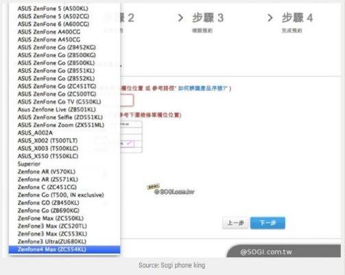 ASUS ZenFone 4 Max: ecco le possibili caratteristiche