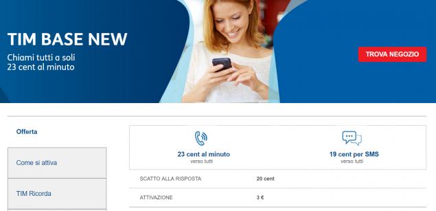 Disattivare Il Piano A Pagamento Tim Prime Go Ora Costa 3 Euro