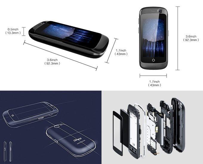 In arrivo Jelly, lo smartphone 4G più piccolo