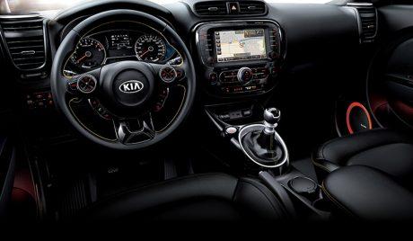 Kia soul interior 01980