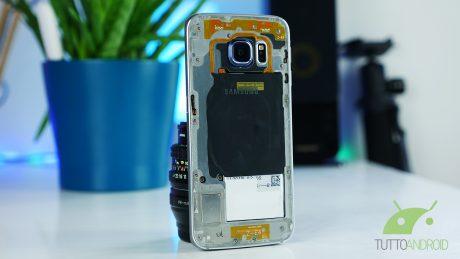 S6 edge trasparente copertina