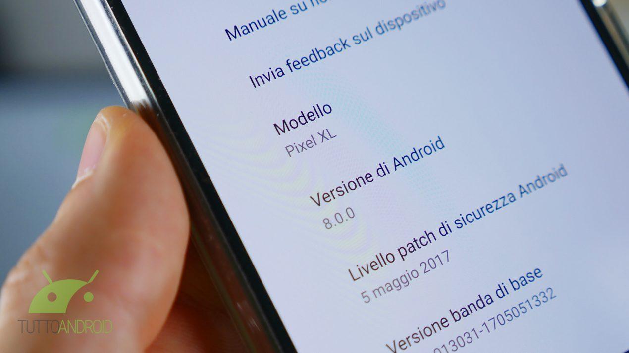Ufficiale: Android O sarà la versione 8.0