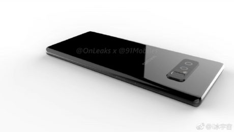 Ecco come dovrebbe essere Samsung Galaxy Note 8, secondo OnLeaks
