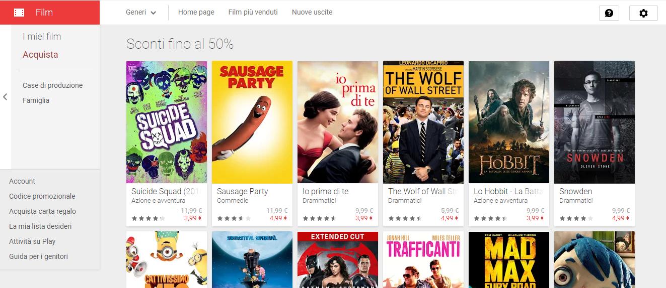 Sul play store arrivano le offerte estive sconti su app for Libri acquisto online sconti