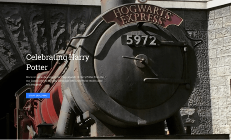 Harry Potter Google Earth