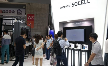 ISOCELL Brand Launch 2017 MWC Shanghai Booth 2