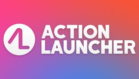 Action launcher banner