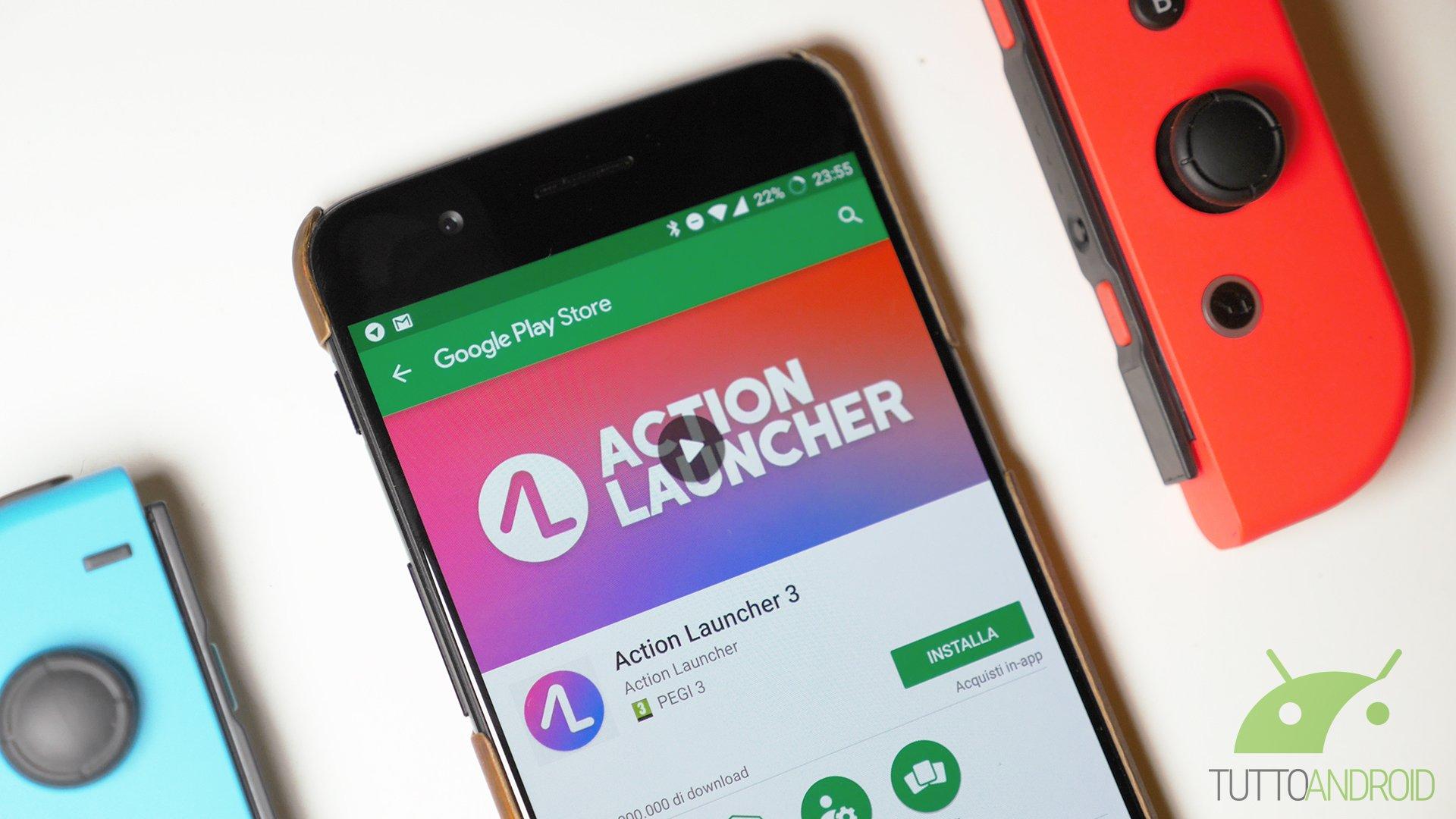 L'ultima build della beta di Action Launcher aggiunge alcune