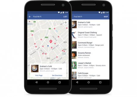 Find wi fi android facebook