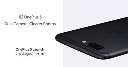 Ufficiale: OnePlus 5 sarà presentato il 20 Giugno!