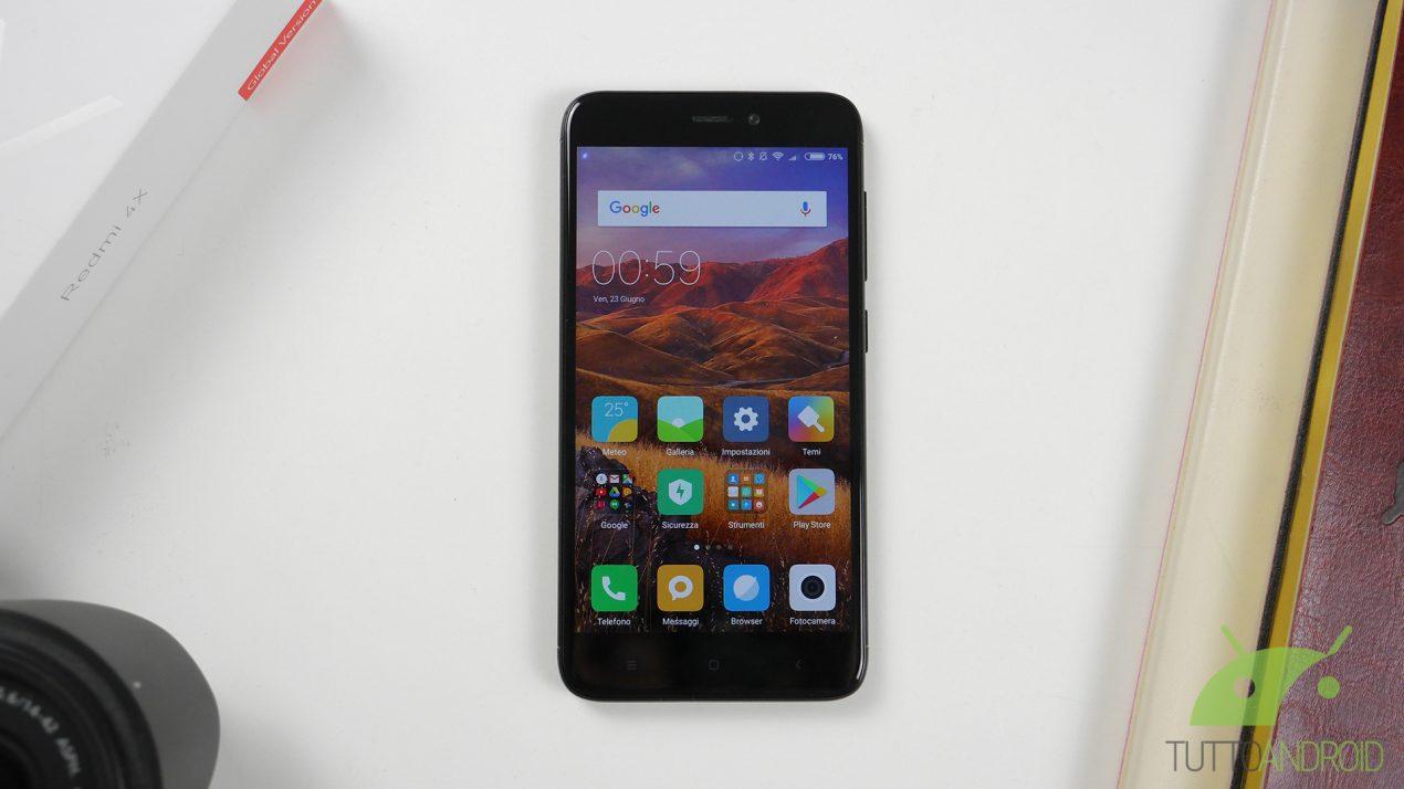 Recensione Xiaomi Redmi 4x Internazionale Uno Smartphone