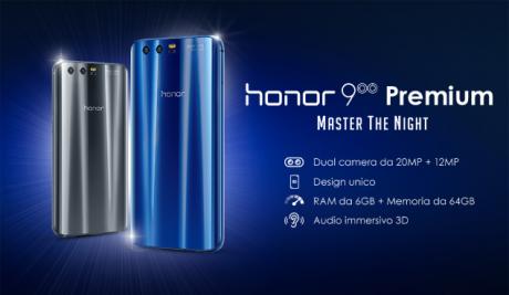 Honor 9 Premium Tre