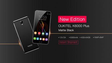 K6000 Plus matte black