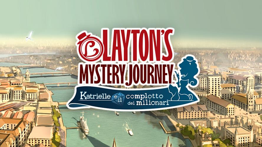 Layton's Mystery Journey in arrivo su iOS e Android il 20 luglio