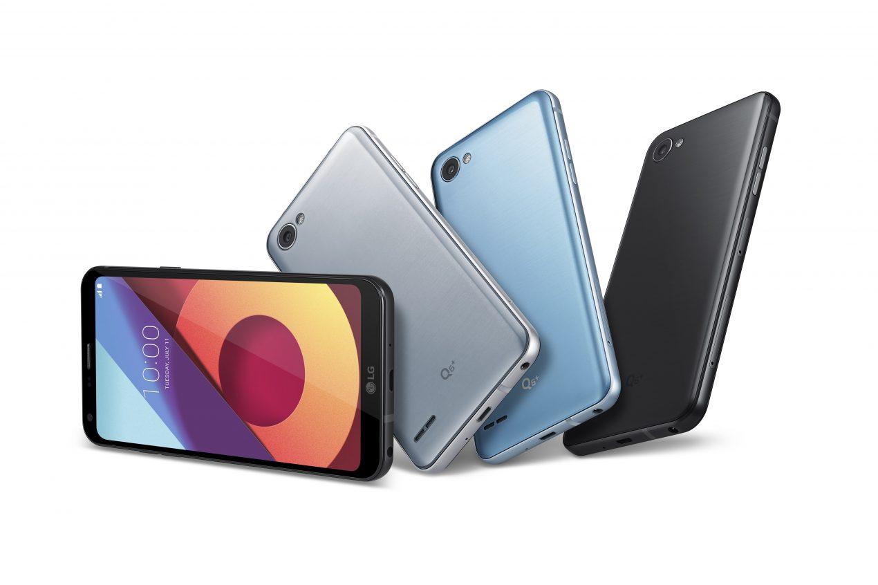 LG Q6, Q6+ e Q6α, display Full Vision per tutti