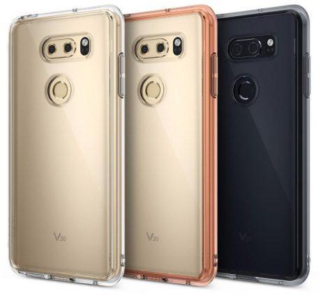 LG V30 Ringke leaked case 1
