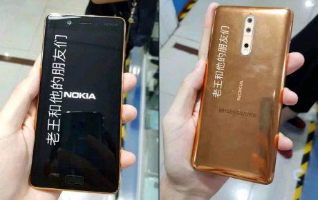 Nokia 8 color rame copertina