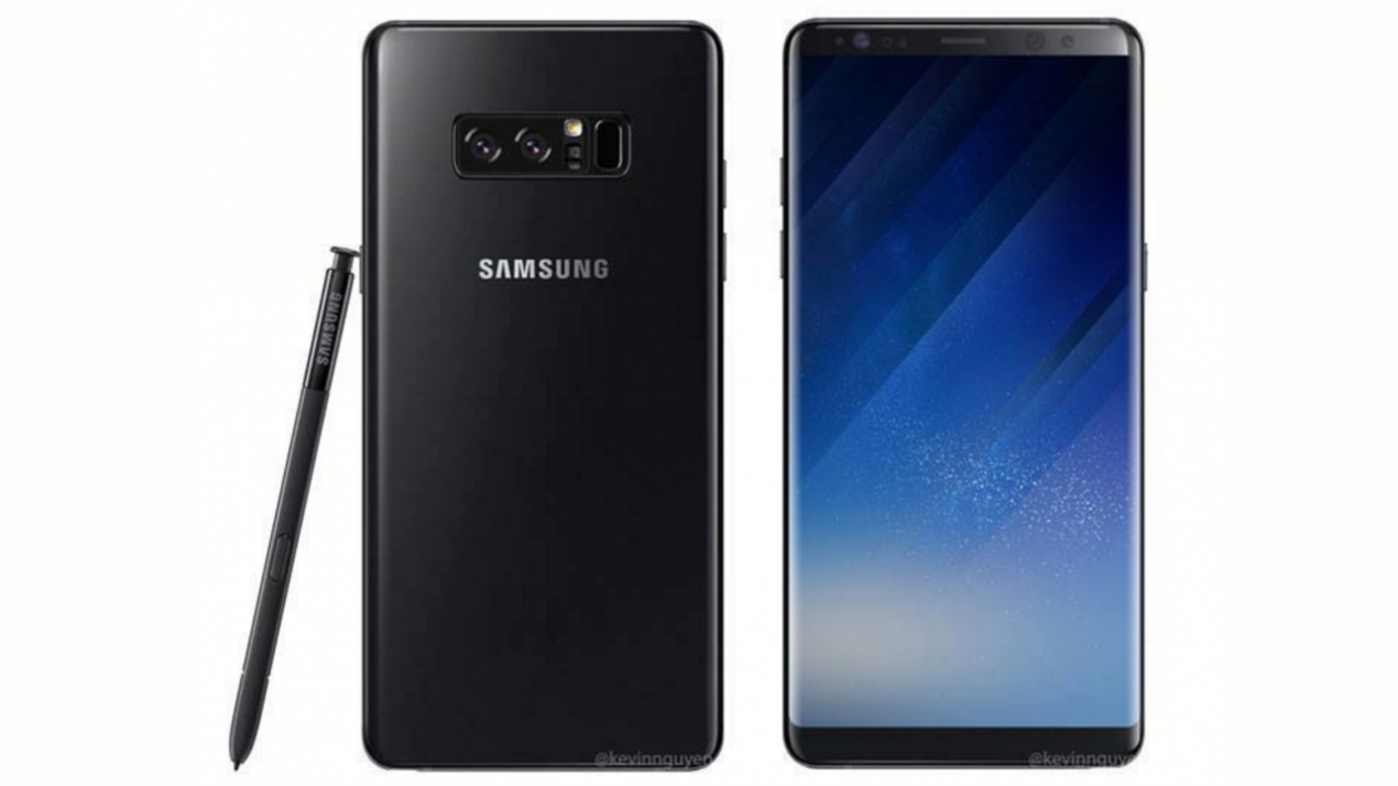 Infinity display di samsung galaxy note 8 potrebbe essere for Nuovo galaxy note 8