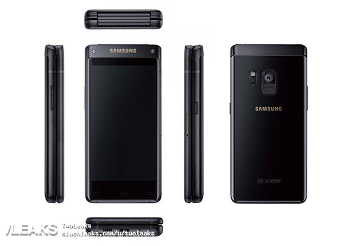 Samsung lancia SM-G9298: uno smartphone a conchiglia top di gamma!
