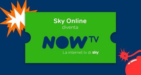 Sky Now TV logo