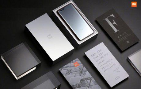 Xiaomi Mi 6 Mercury Silver Edition box