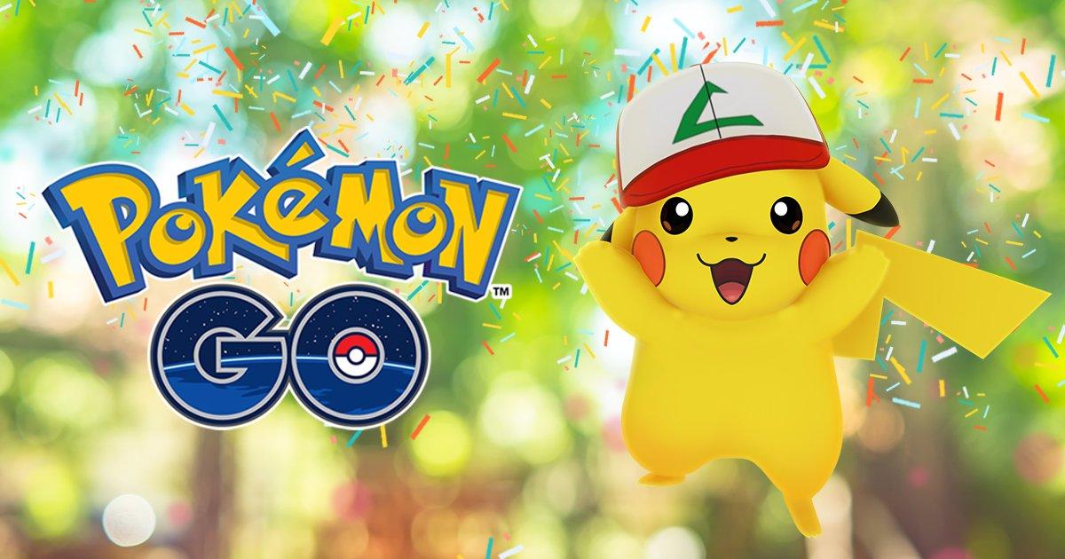 Pokémon GO: disponibile l'evento anniversario