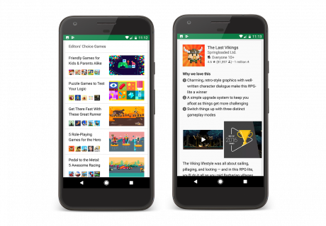 Google play editors choice