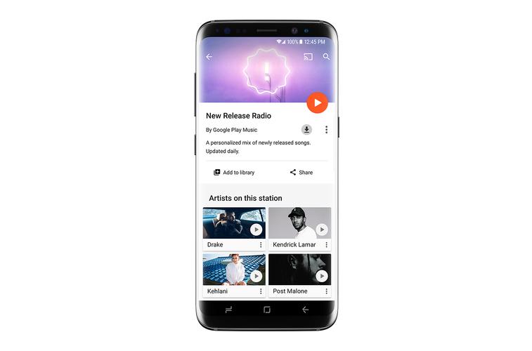 Google play music si arricchisce con la stazione radio for Smartphone ultime uscite
