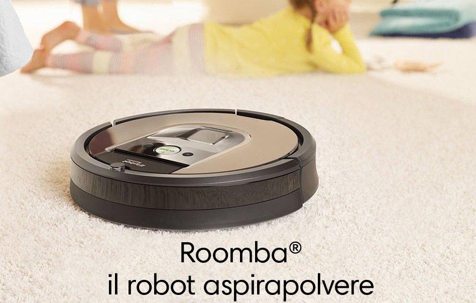 I robot aspirapolvere roomba presto potranno realizzare - Creare una piantina della casa ...