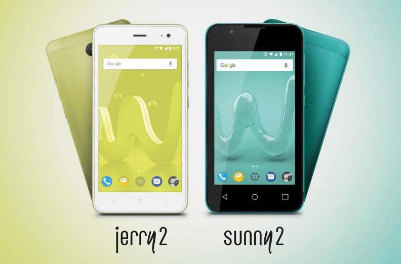 Wiko annuncia jerry2 e sunny2 due smartphone economici da for Smartphone 100 euro 2017
