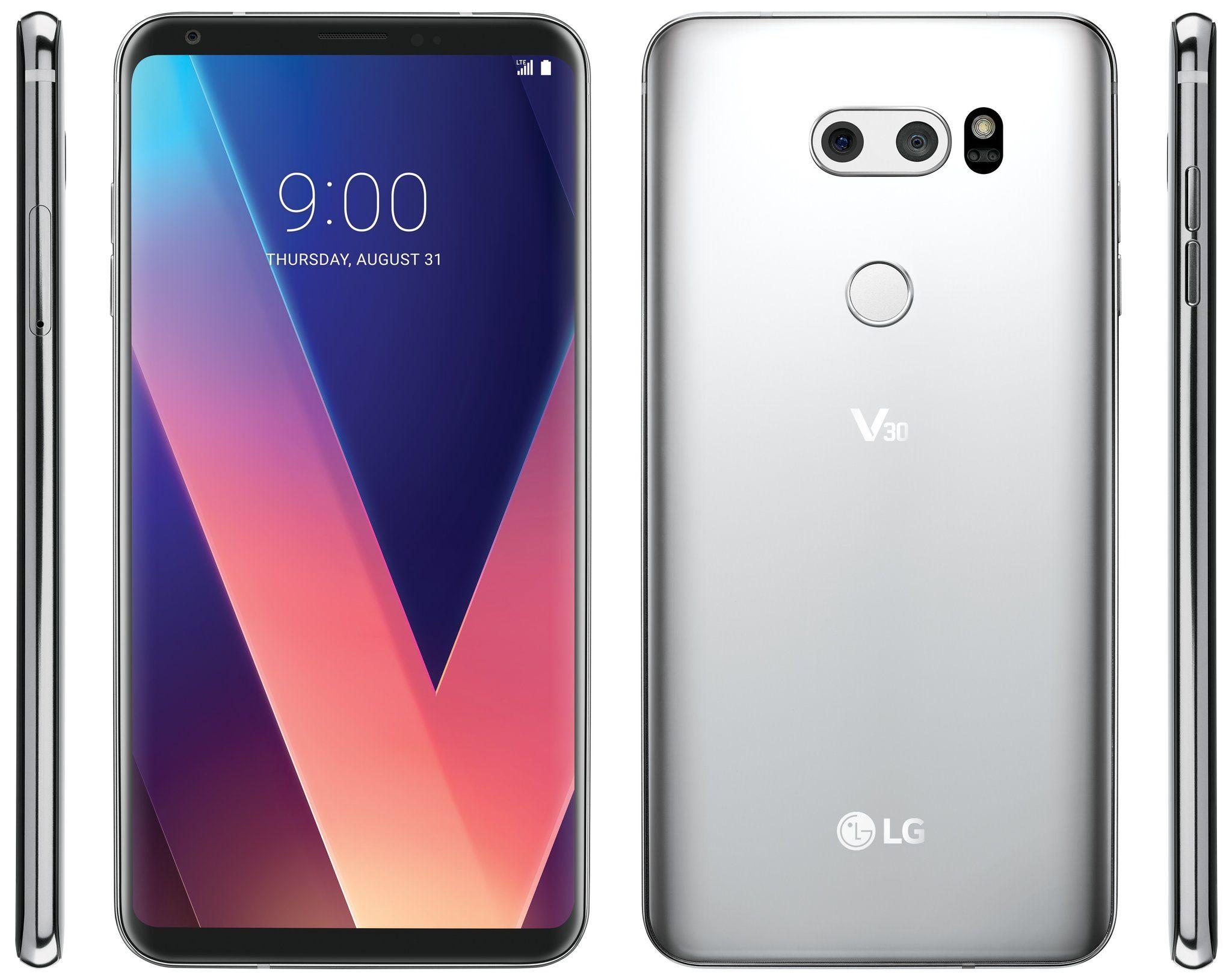 LG V30 ecco il render stampa definitivo!