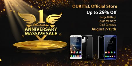 OUKITEL Official store 1st anniversary6499