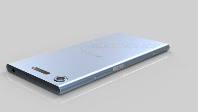 Sony Xperia XZ1 Compact - in anteprima alcuni rendering non ufficiali