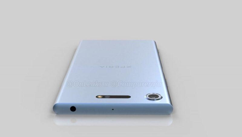 Sony Xperia XZ1: ecco il design esteriore