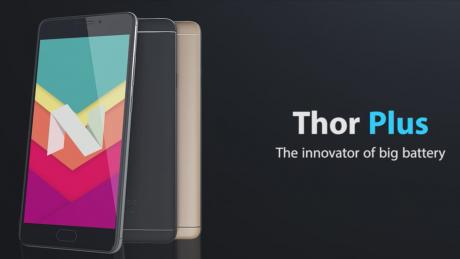 Vernee Thor Plus con batteria da 6200 mAh è disponibile a circa 110 euro