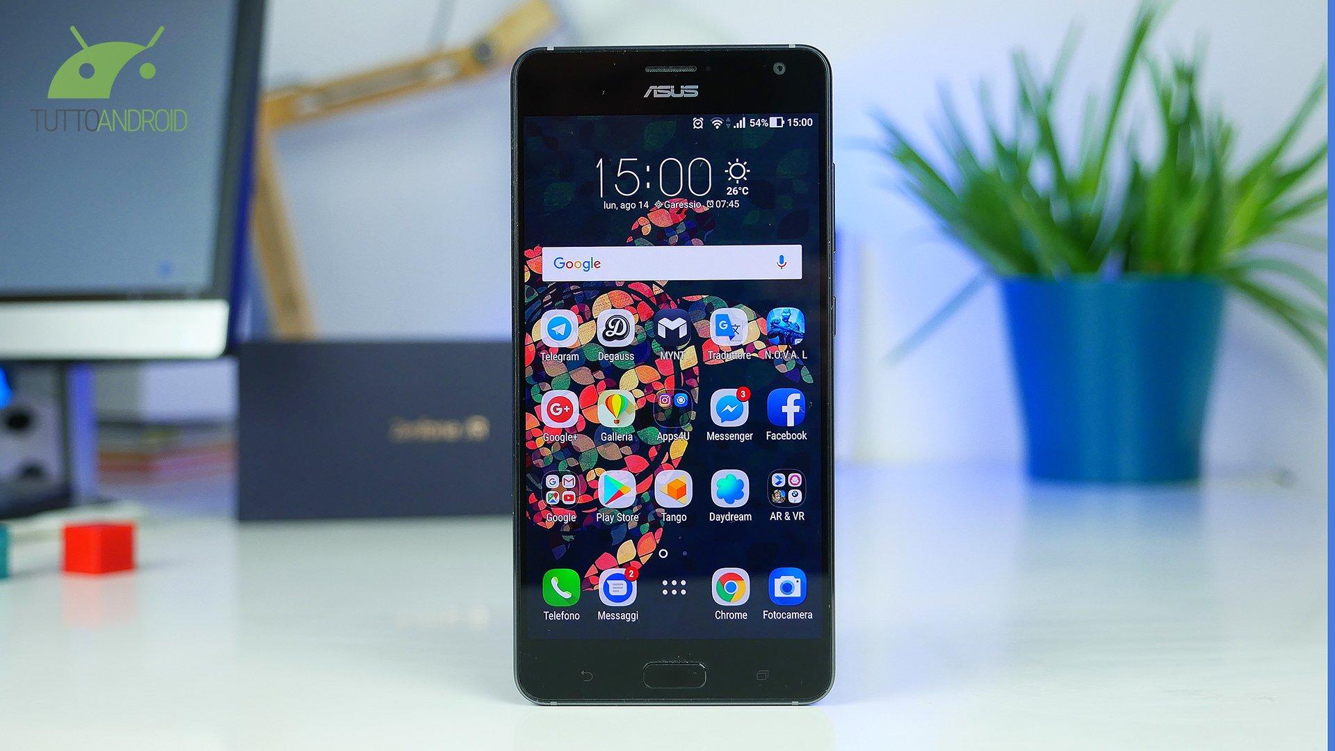 2754bb682087 Recensione ASUS ZenFone AR  Tango Phone per tutti i giorni ...