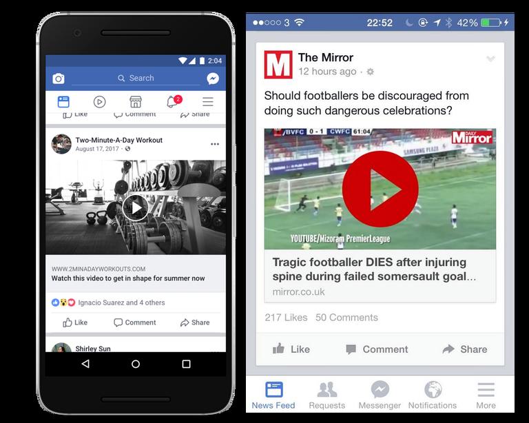 Facebook, app con nuova interfaccia per migliorare la leggibilità