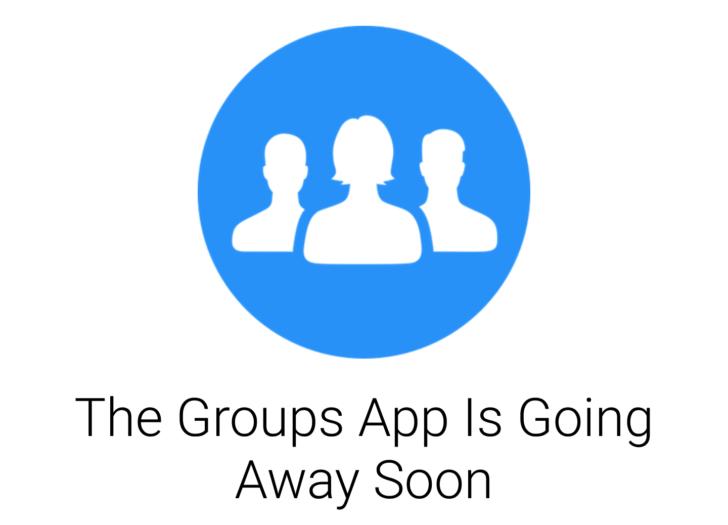 Cala il sipario sull'app Facebook Groups: le funzioni saranno integrate nell'app principale