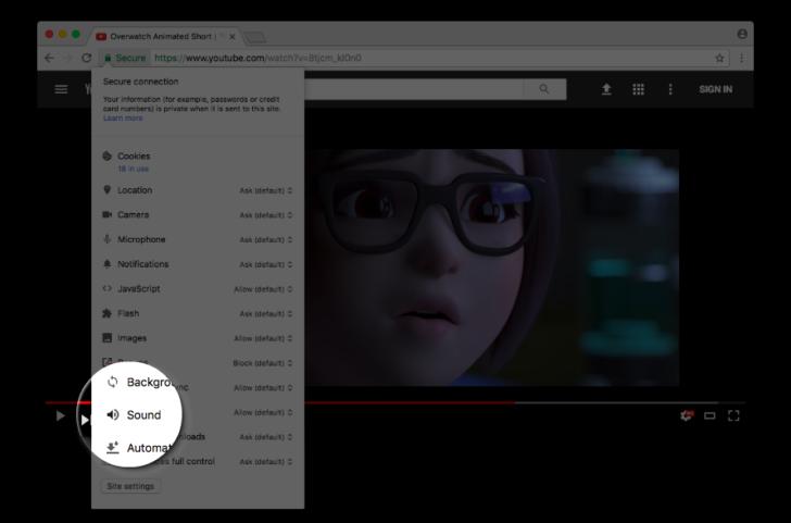 Google Chrome: Arriva la possibilità di silenziare i siti web