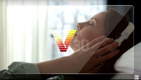 Lg v30 sound