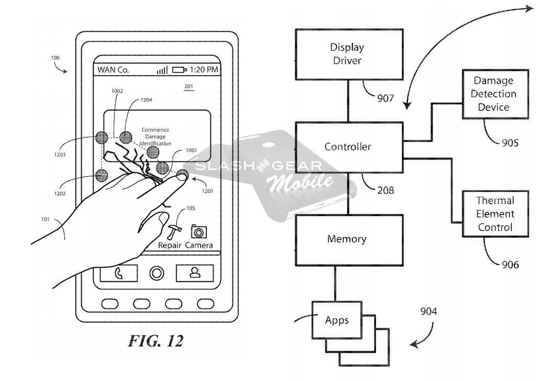 Motorola brevetta un display che si ripara da solo