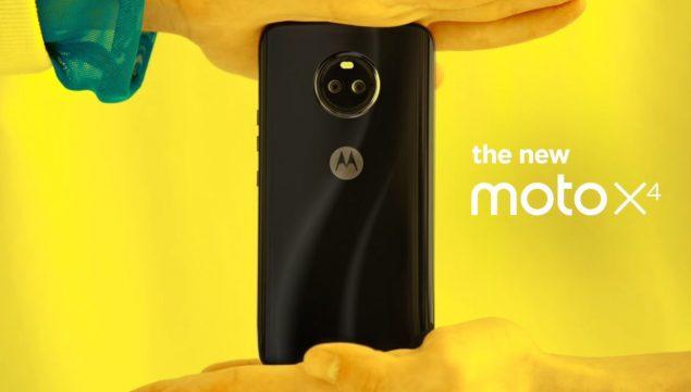 Motorola Moto X4, immagini dello smartphone