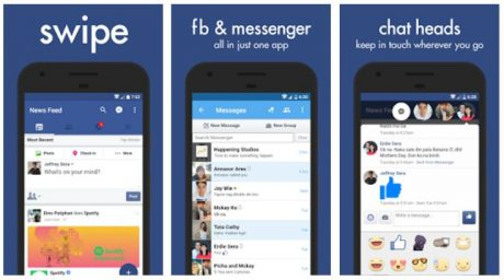 Swipe for Facebook per Android si aggiorna alla versione 7.0 con tante novità
