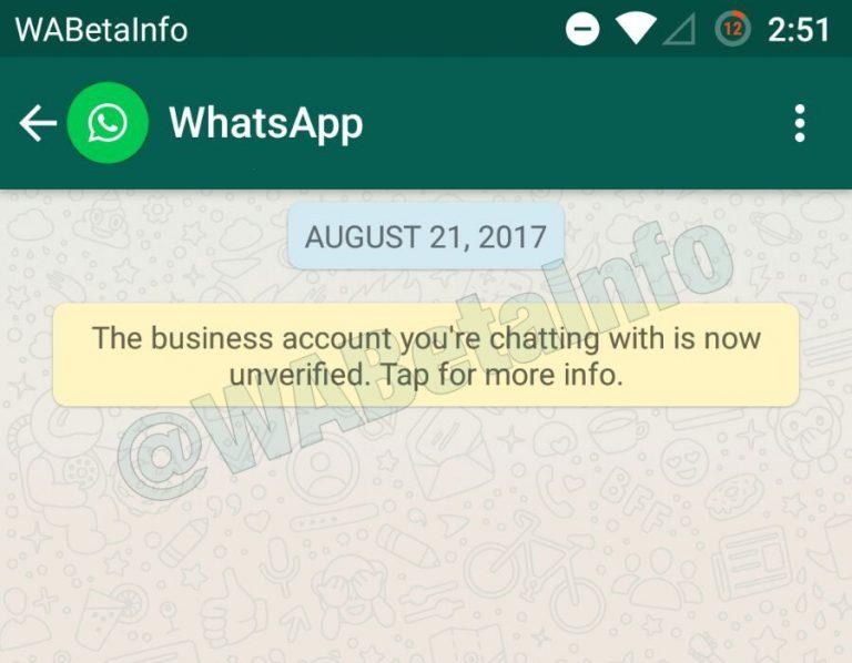 WhatsApp: arriva la spunta verde per le aziende
