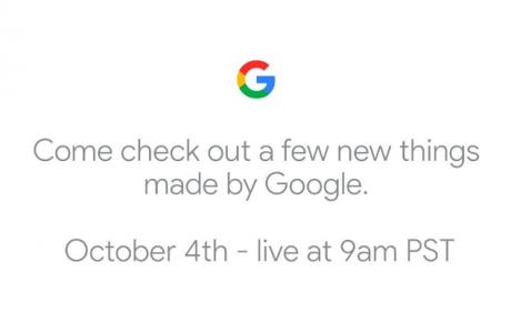 Google evento 4 ottobre