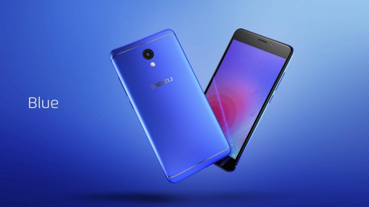 MEIZU M6 è ufficiale, nuovo smartphone Android dal prezzo accessibile