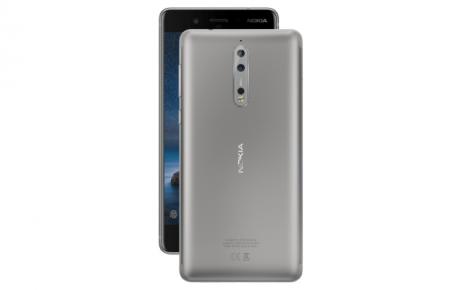 Nokia 8 Acciaio silver